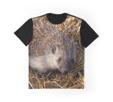European Hedgehog Graphic T-Shirt