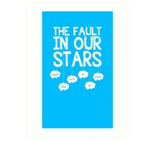 Our Faulty Stars Art Print