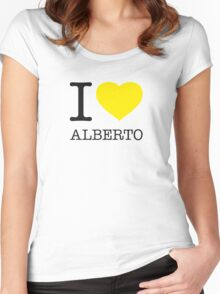 I ♥ ALBERTO Women's Fitted Scoop T-Shirt