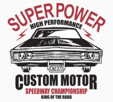 Super Power High Performance Kids Tee