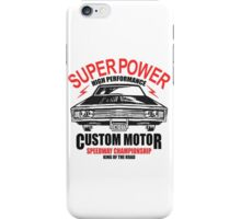 Super Power High Performance iPhone Case/Skin