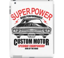 Super Power High Performance iPad Case/Skin
