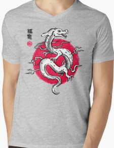 Ink Fukuryu Mens V-Neck T-Shirt