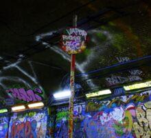 Leake Street Graffiti Sticker