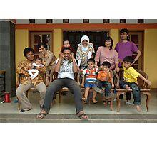 family gathering Photographic Print