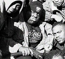 Biggie Smalls w/ Gat by cracktraffic