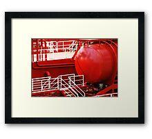 Ship Detail - The AlgoCanada Framed Print