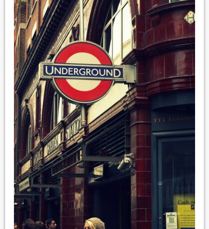 Covent Garden Underground - London Sticker
