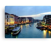 Venice Evening 2 Canvas Print