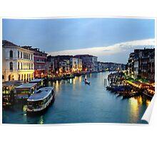 Venice Evening 2 Poster