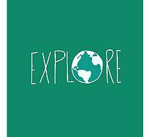 Explore the Globe III Photographic Print