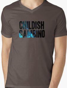 Childish Mens V-Neck T-Shirt