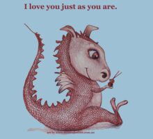 Red Dragon 'I love you just as you are'  Kids Tee