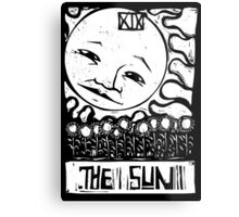 The Sun  - Tarot Cards - Major Arcana Metal Print