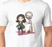 Chibi Hannibal and Clarice Unisex T-Shirt