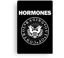 Raging Hormones Canvas Print