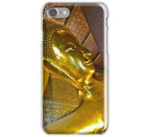 """Reclining Buddha"" Wat Pho,  Bangkok, Thailand iPhone Case/Skin"