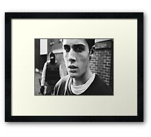Adam Butcher Framed Print