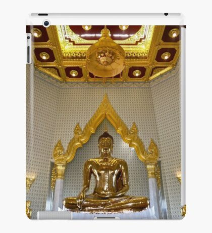 """Golden Buddha"" Wat Traimit Temple, Bangkok, Thailand iPad Case/Skin"