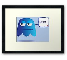 scary scary!!! Framed Print