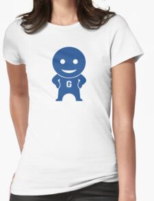 Community - Greendale Comic-Con/Yahoo Inspired Human Beings (BLUE) Womens Fitted T-Shirt