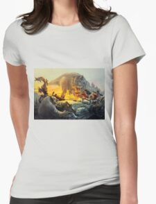 Cadillac & Dinosaurs Womens Fitted T-Shirt