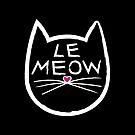 Le Meow Black by trossi