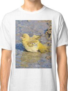 Masked Weaver - African Wild Birds - Happy Days Classic T-Shirt