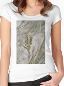 Dune Wheat Women's Fitted Scoop T-Shirt