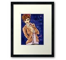 Fezzes Are Cool / Beautiful Whovian Framed Print