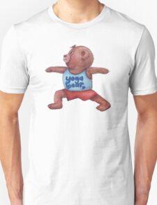 Warrior Yoga Bear  Unisex T-Shirt