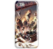 Apocaliptic Dinosaurs iPhone Case/Skin