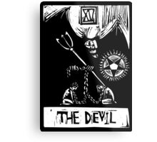 The Devil  - Tarot Cards - Major Arcana Metal Print