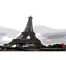 Eiffel ing5 Photographic Print