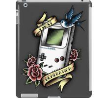 Old School gamer iPad Case/Skin