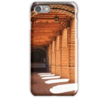 Sunlit arches in the Convent of La Merced, Cusco, Peru iPhone Case/Skin