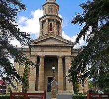 St George's Anglican Church, Hobart by Margaret  Hyde