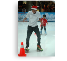inline skate Canvas Print