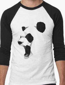 poly graphic panda Men's Baseball ¾ T-Shirt