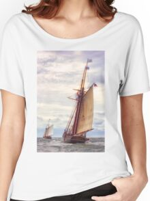 Trailing The Whaler Women's Relaxed Fit T-Shirt