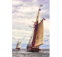 Trailing The Whaler Photographic Print