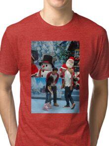inline skate Tri-blend T-Shirt