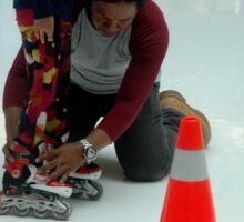 inline skate Sticker