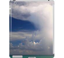 Thunder Cloud over the Caribbean Sea  iPad Case/Skin