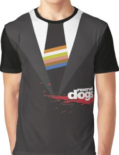 -TARANTINO- Reservoir Dogs Suit Style Graphic T-Shirt