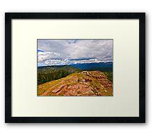 """Shrine Ridge Trail"" Vail, Colorado- USA Framed Print"