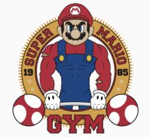 Super Mario Gym Kids Tee