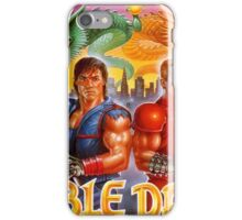 Double Dragon Retro iPhone Case/Skin