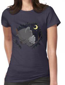 Sleeping Koalas Womens Fitted T-Shirt