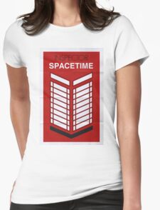 Inspector Spacetime Womens Fitted T-Shirt
